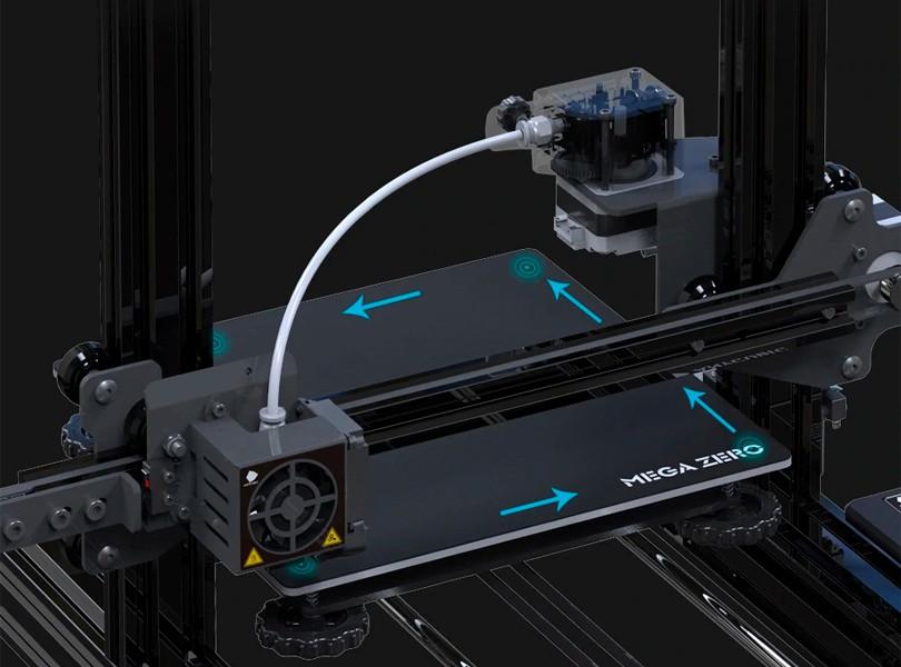 Система принтера anycubic mega zero 2.0