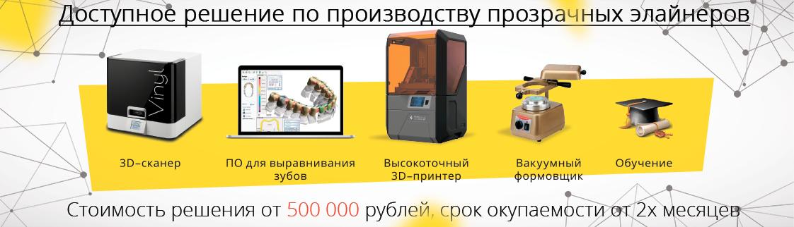 Оборудование для изготовления элайнеров