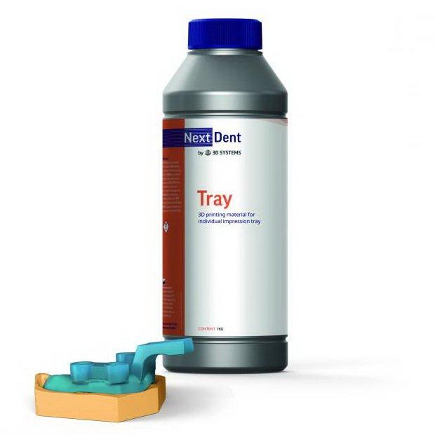 Фотополимер NextDent Tray голубой просроченный