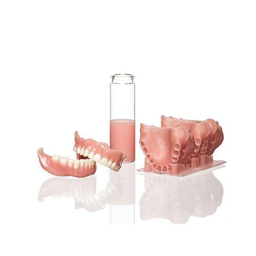 Образцы изделий из Фотополимер NextDent Base Розовый (просроченный)