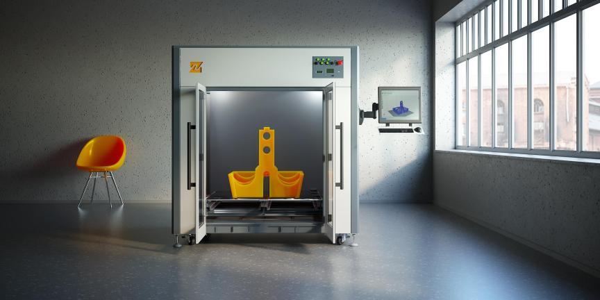 3D принтер Total Z Anyform 1000 PRO