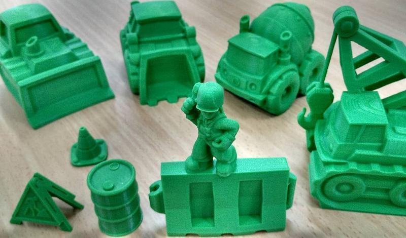 печать миниатюр китайским принтером Wanhao Duplicator 4S (D4S)