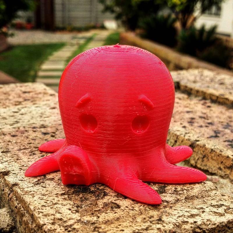 Wanhao Duplicator 4S напечатал большую медузу