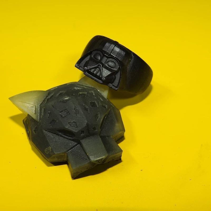 сборная фигура изготовлена 3D принтером Ванхао Duplicator 8