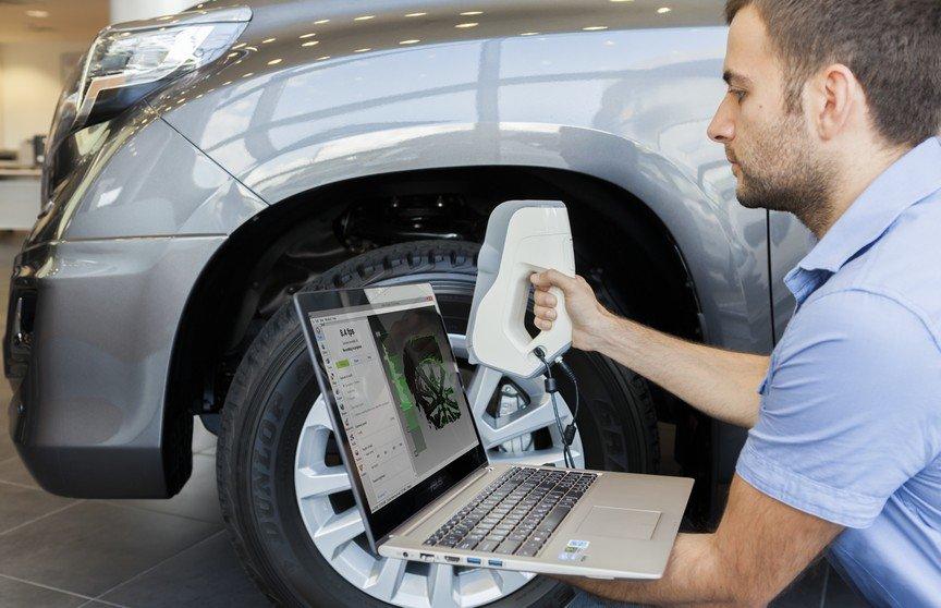 лучший 3D сканер Artec автомобильный тюнинг