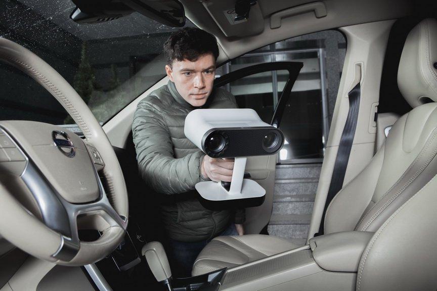 удобный 3D сканер