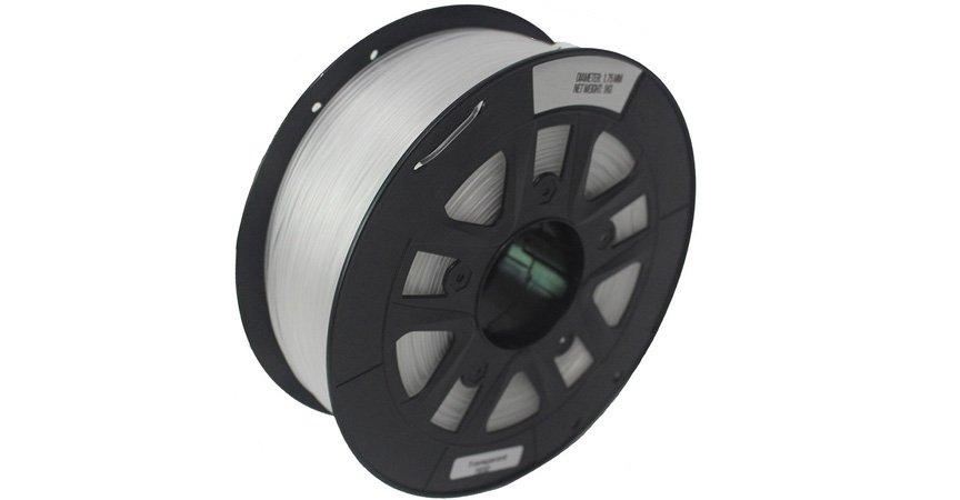 Nylon пластик 1,75 SolidFilament прозрачный, 1 кг