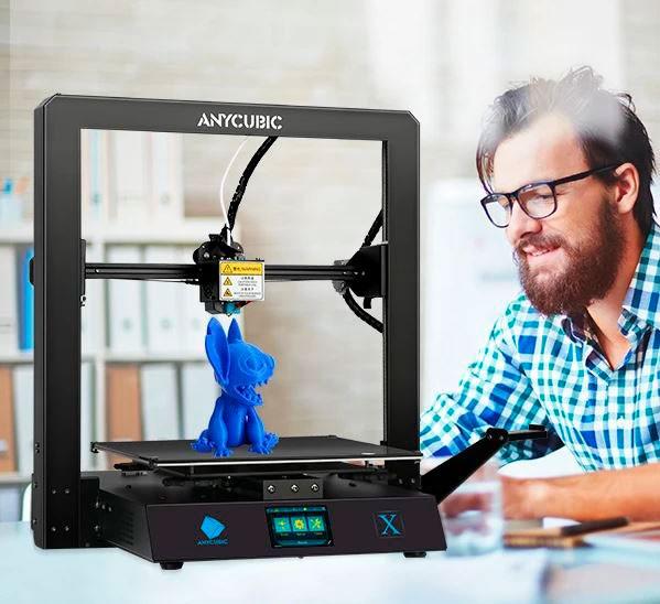 примеры изделий 3D принтера Anycubic MEGA X