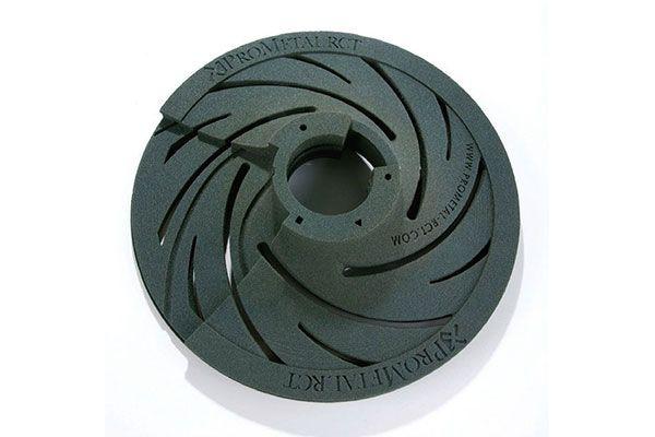 Изделие напечатанное на 3D принтере ExOne S-Max