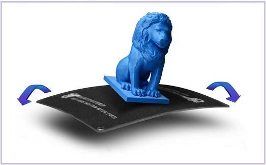 Гибкая платформа 3D принтера Longer Cube 2