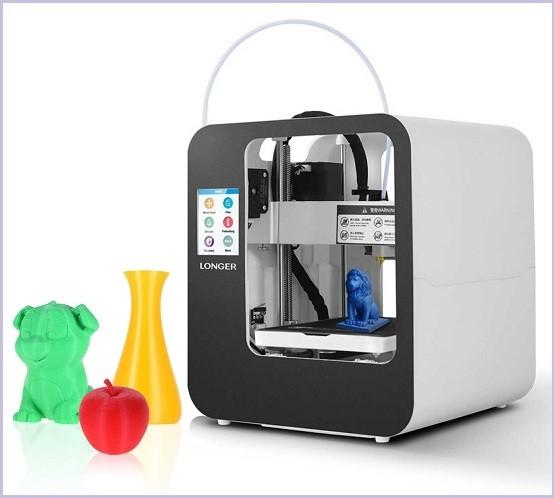 Примеры печати 3D принтера Longer Cube 2