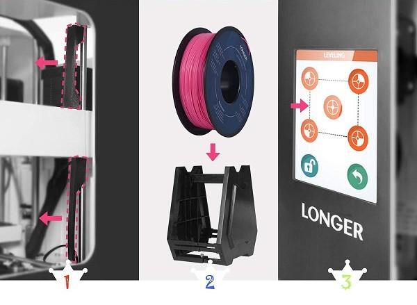 Быстрый старт 3D принтера Longer Cube 2