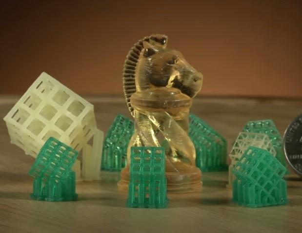 Образцы печати 3D принтера Uniz SLASH PRO