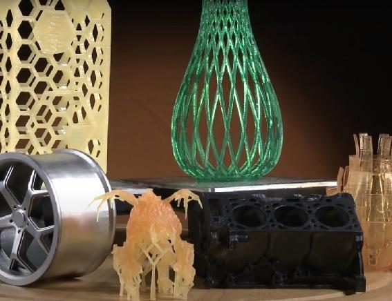 Печать на 3D принтере Uniz SLASH PRO