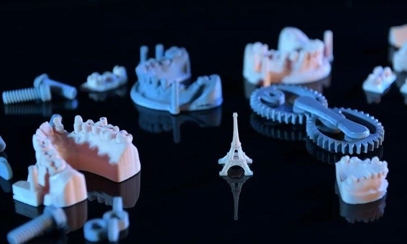 маленькие фигурки в хорошем качестве печати сделаны принтером Wanhao gr1