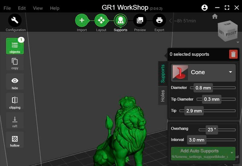 скриншот программы GR1 Workshop