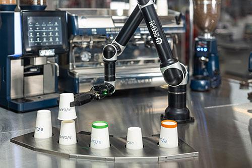 Обслуживание робота-баристы Rozum robotics