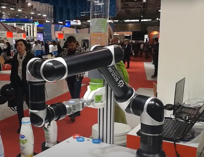 Эксклюзивность робота-бартендера Rozum robotics