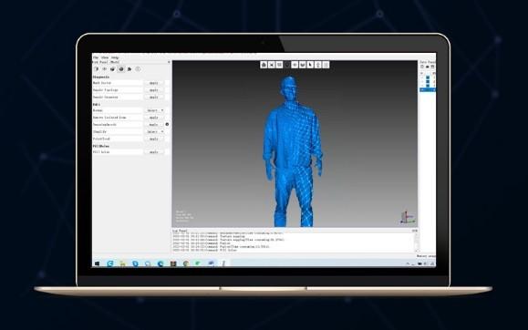 Обработка сканов 3D-сканером Creality CR-Scan 01