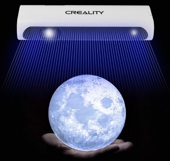 Сканирование в условиях низкой освещенности 3D-сканером Creality CR-Scan 01