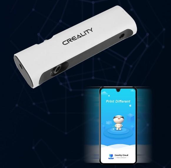 Простое сохранение файлов 3D-сканером Creality CR-Scan 01